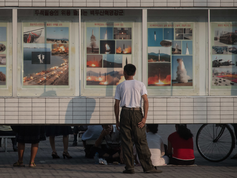 North Korea fires missile into sea off east coast, possibly an ICBM