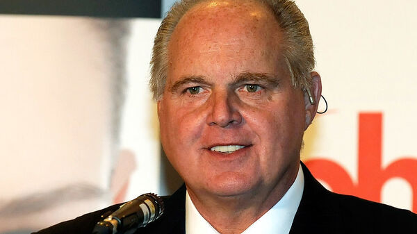 Radio talk show host and conservative commentator Rush Limbaugh, seen in 2010, argues the investigation into ties between the Trump campaign and Russia is an attempt to discredit the president.