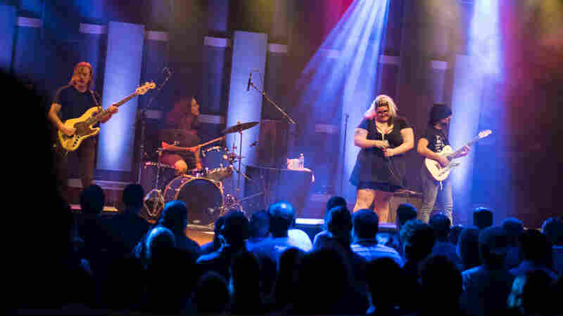 Stream Sheer Mag's Performance For World Cafe