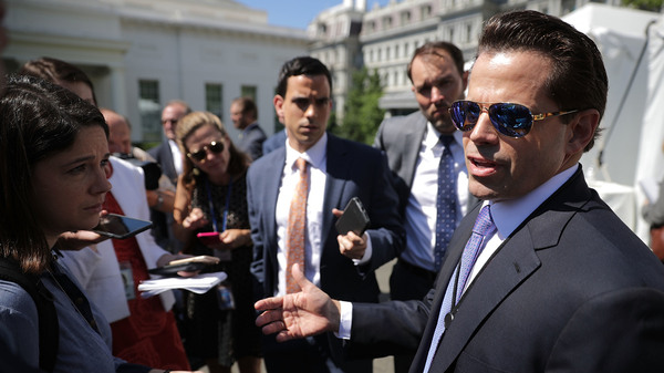 Anthony Scaramucci served as White House communications director for 10 days.