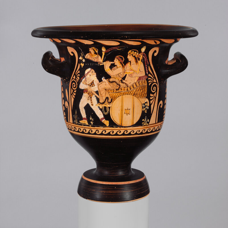 Met Museum Turns Over Ancient Vase Suspected Looted From Italy The
