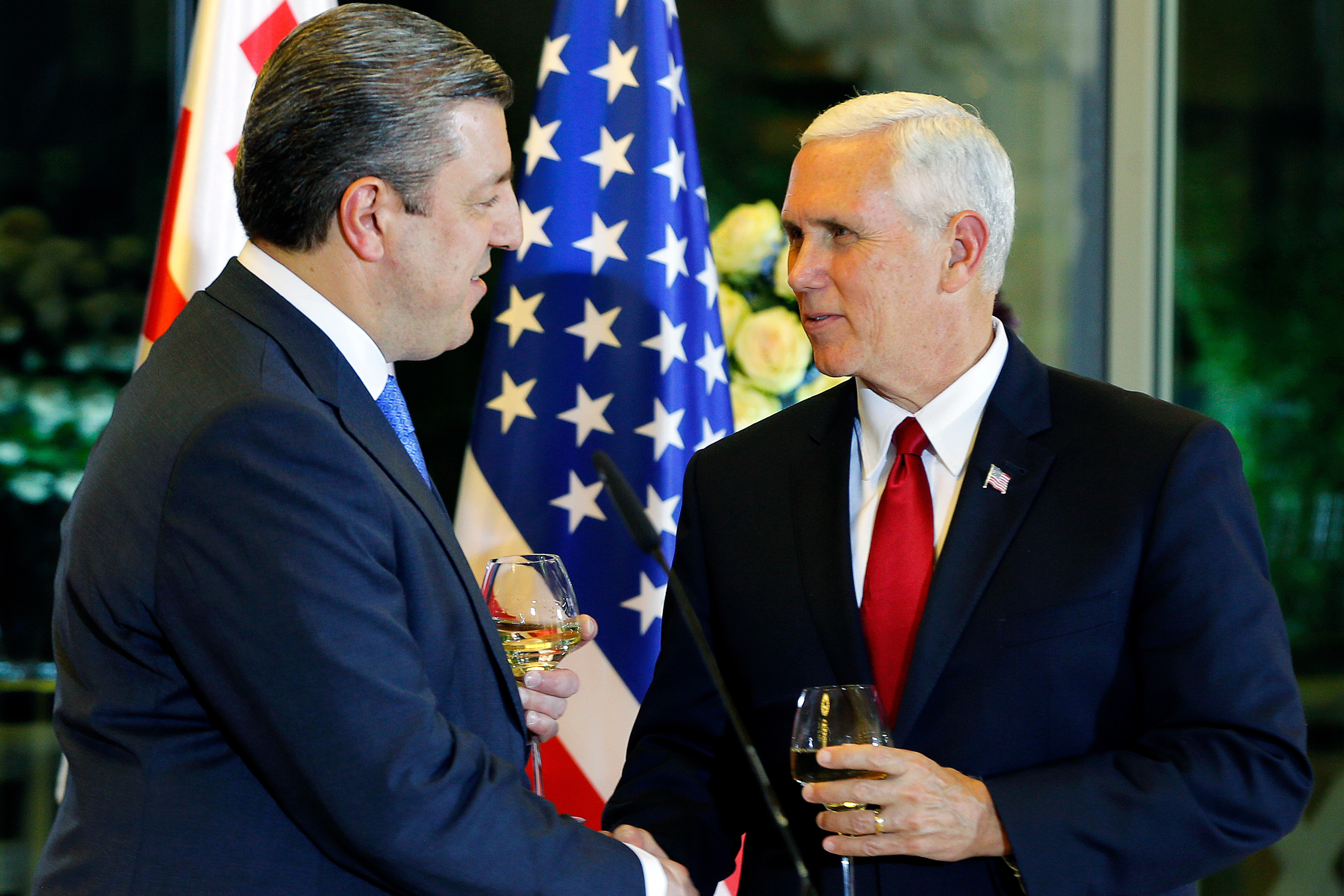 Pence, in Montenegro, Assures Balkans of US Support