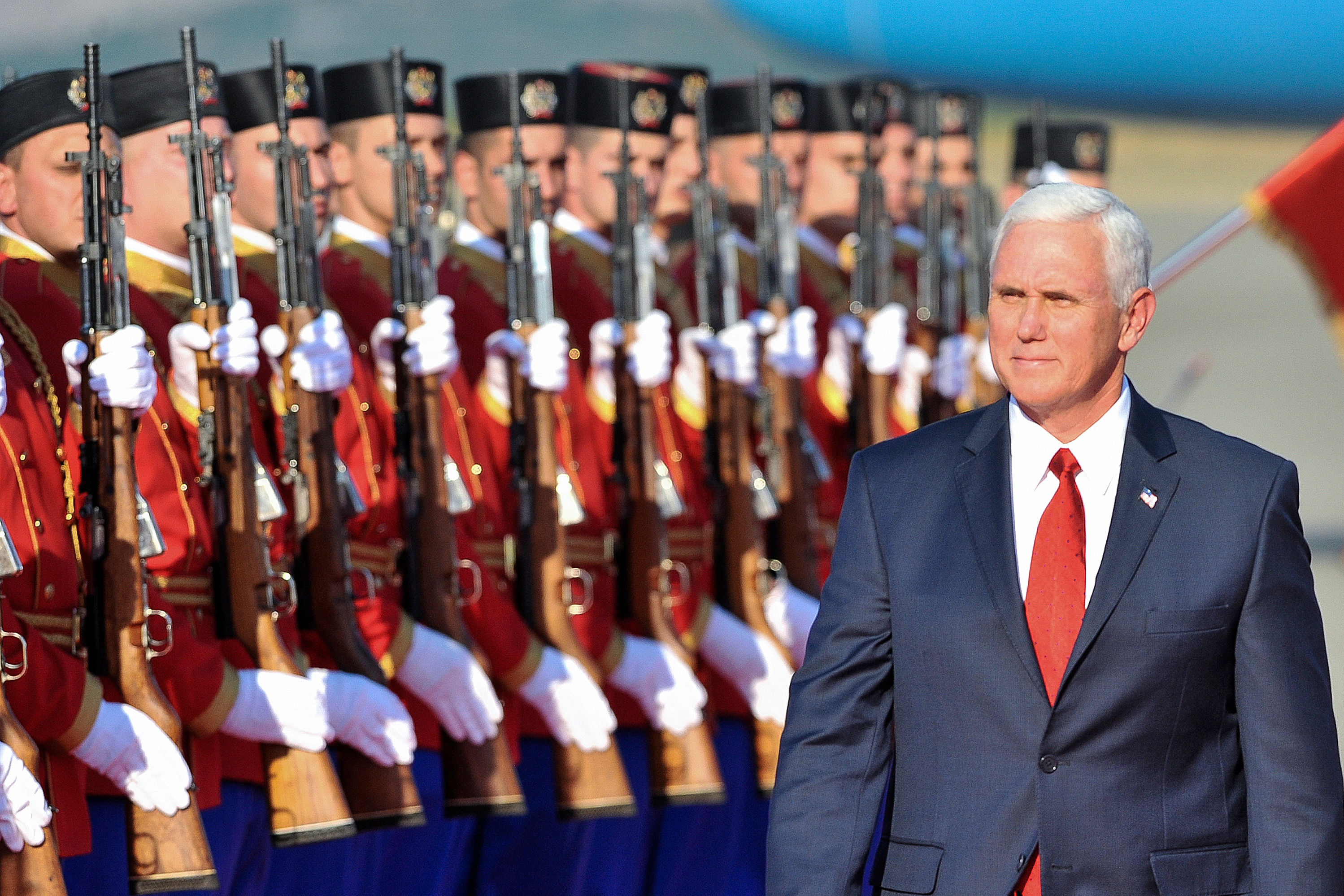 US VP Pence calls Russian Federation