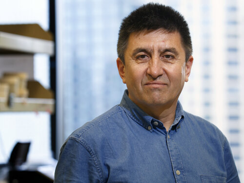 Shoukhrat Mitalipov, principal investigator for the embryo editing study, directs the Center for Embryonic Cell and Gene Therapy at Oregon Health and Sciences University.     (Courtesy of Kristyna Wentz-Graff/OHSU)