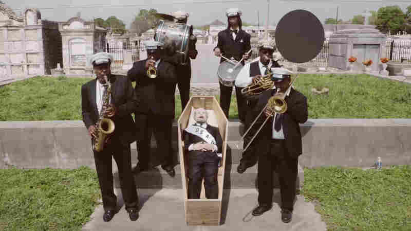In 'The Curse' Video, Bonnie 'Prince' Billy Gets A New Orleans Jazz Funeral