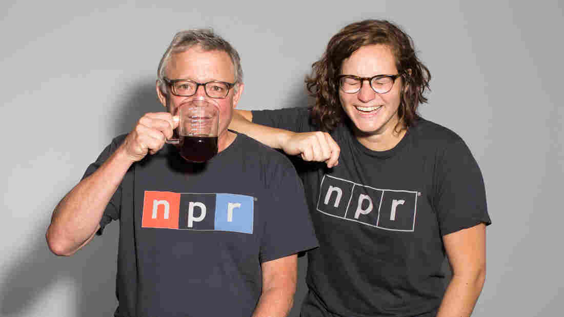 NPR's Joe Palca and Madeline Sofia work with scientists all over the country to become better communicators.