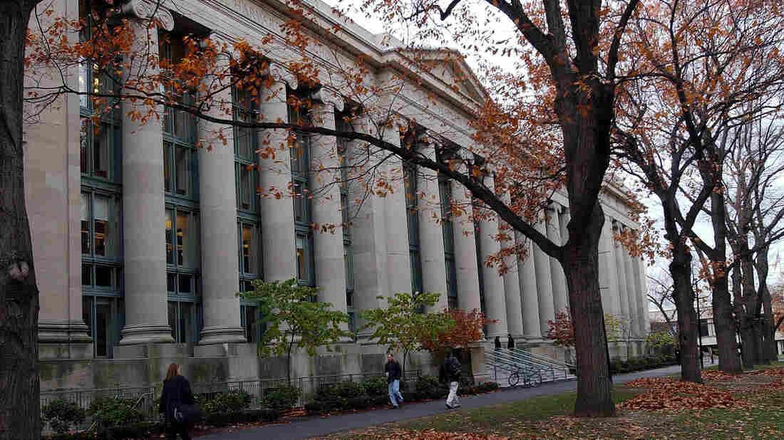 The Harvard University campus in Cambridge, Mass.