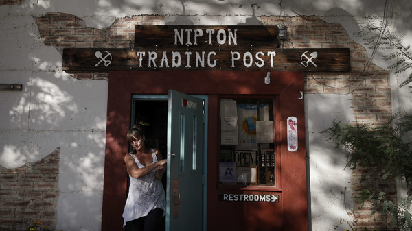 """The Nipton Trading Post is among the few businesses in the tiny California town. American Green has big plans for the town in what it calls the """"Cannabis Revolution."""""""