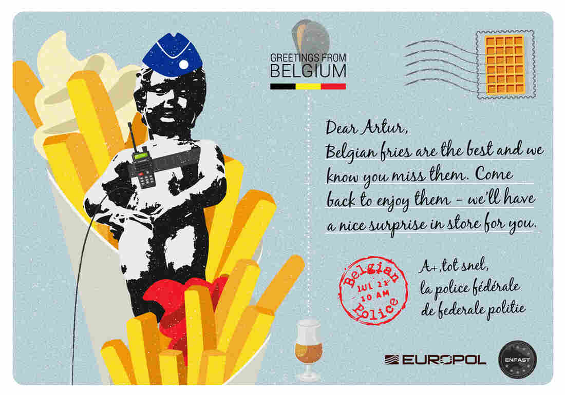 Belgium's postcard