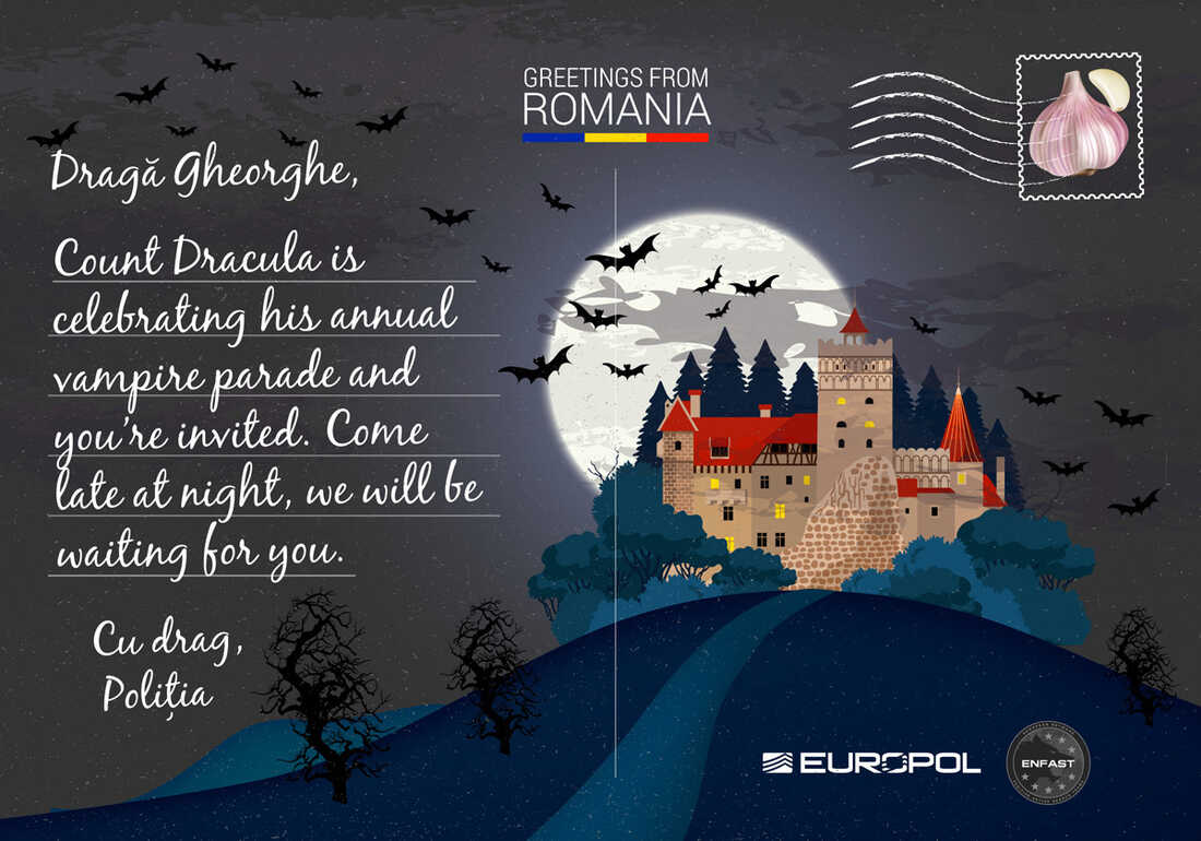 Romania's postcard