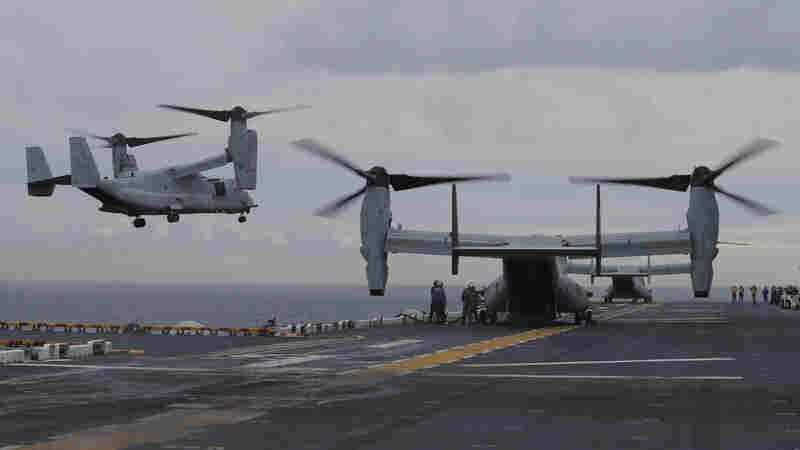 3 U.S. Marines Declared Dead In Crashed Osprey Plane