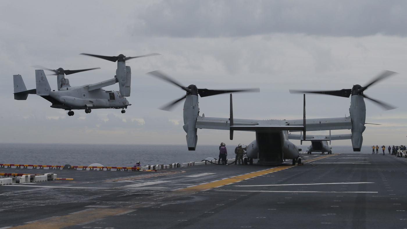 Missing Marines declared dead after Australian Navy locates missing US aircraft