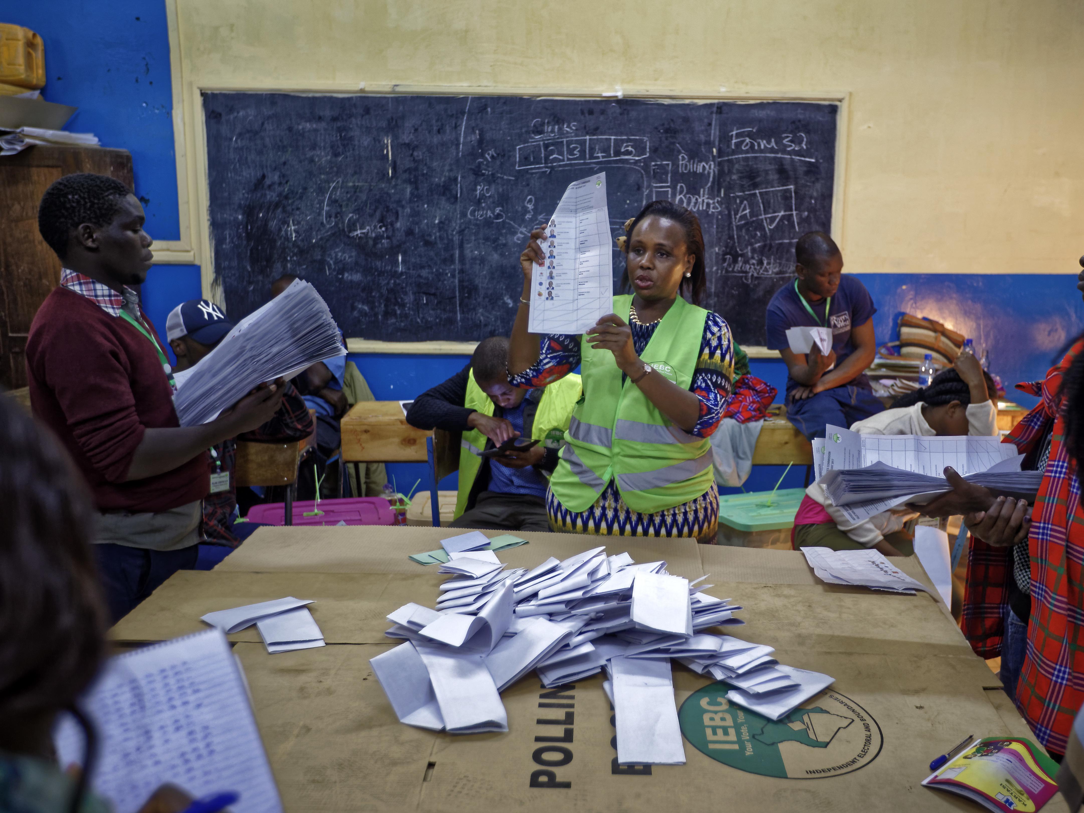 Kenya election 2017: AU and Commonwealth say poll credible