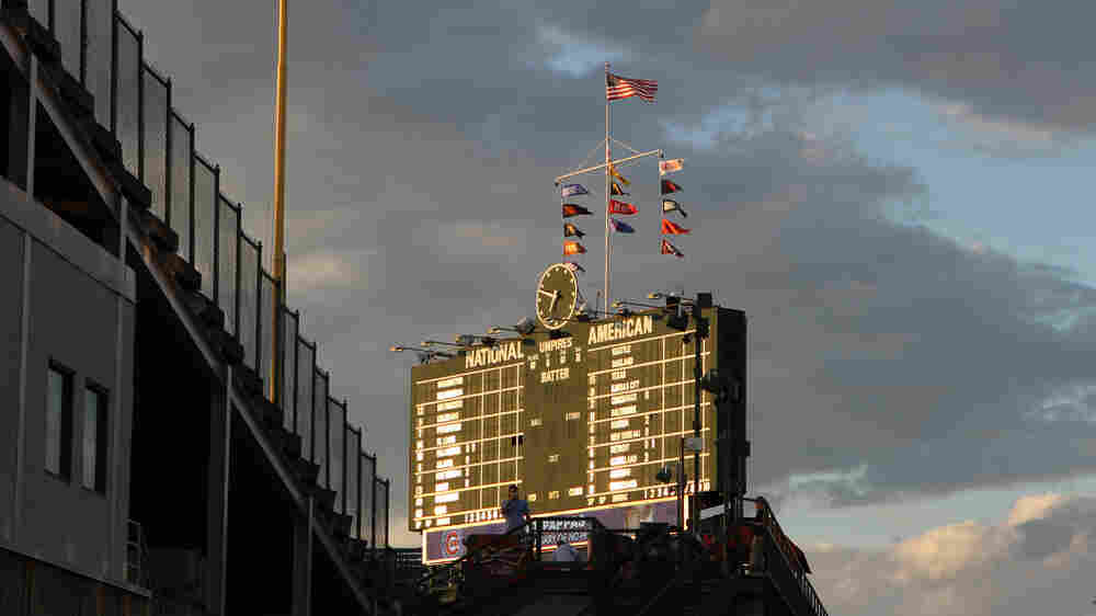 Inside Wrigley Field, The Scorekeepers Stay True To Baseball's Beginnings