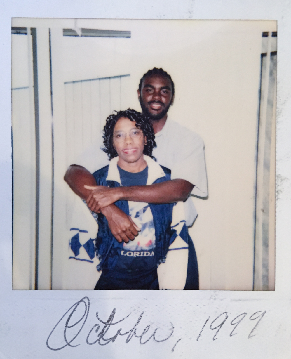 When Marcus Bullock went to prison in 1997, he was only 15. His mother, Sylvia, wrote to him frequently for the eight years he was there and visited him. (Courtesy of Sylvia Bullock)