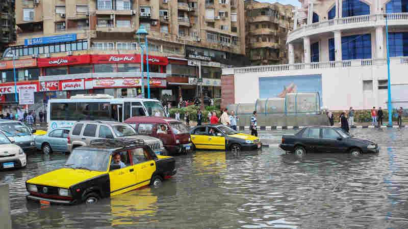 In Egypt, A Rising Sea — And Growing Worries About Climate Change's Effects