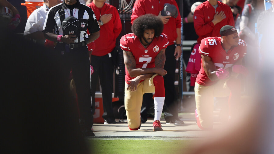 Colin kaepernick has no team after activism on the field npr he took a knee on the field in protest and he still has no team fandeluxe Gallery