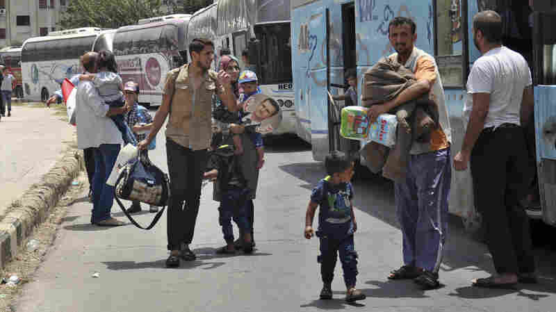 U.N.: More Than 600,000 Syrians Have Returned Home In 2017