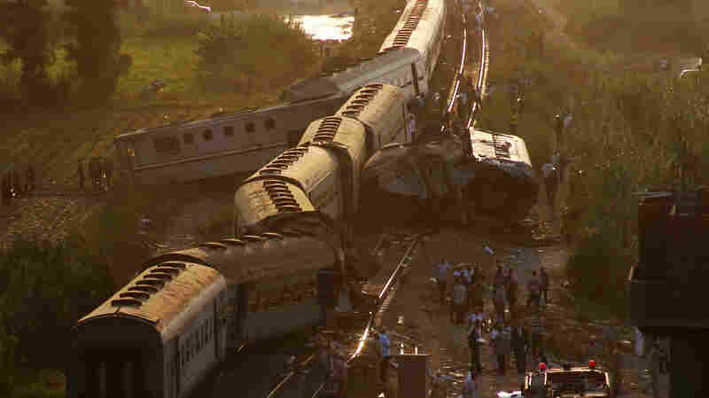Train Crash In Egypt Kills More Than 40 People