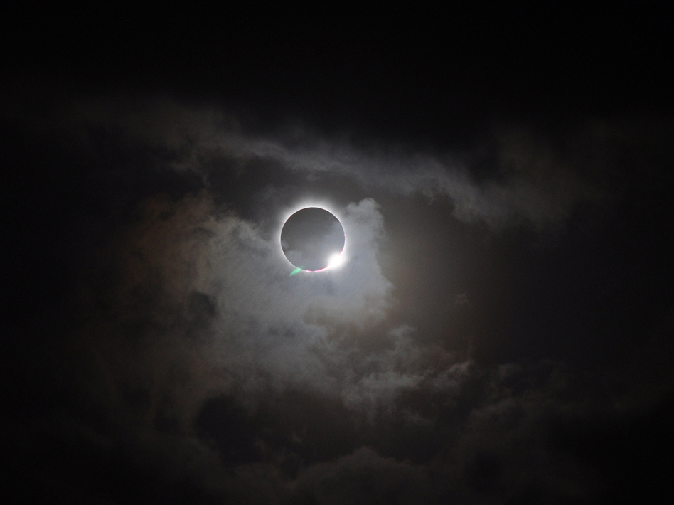 On Nov. 13, 2012, a narrow corridor in the southern hemisphere experienced a total solar eclipse. The corridor lay mostly over the ocean but also cut across the northern tip of Australia where both professional and amateur astronomers gathered to watch. (Romeo Durscher/NASA Goddard Space Center/Flickr)