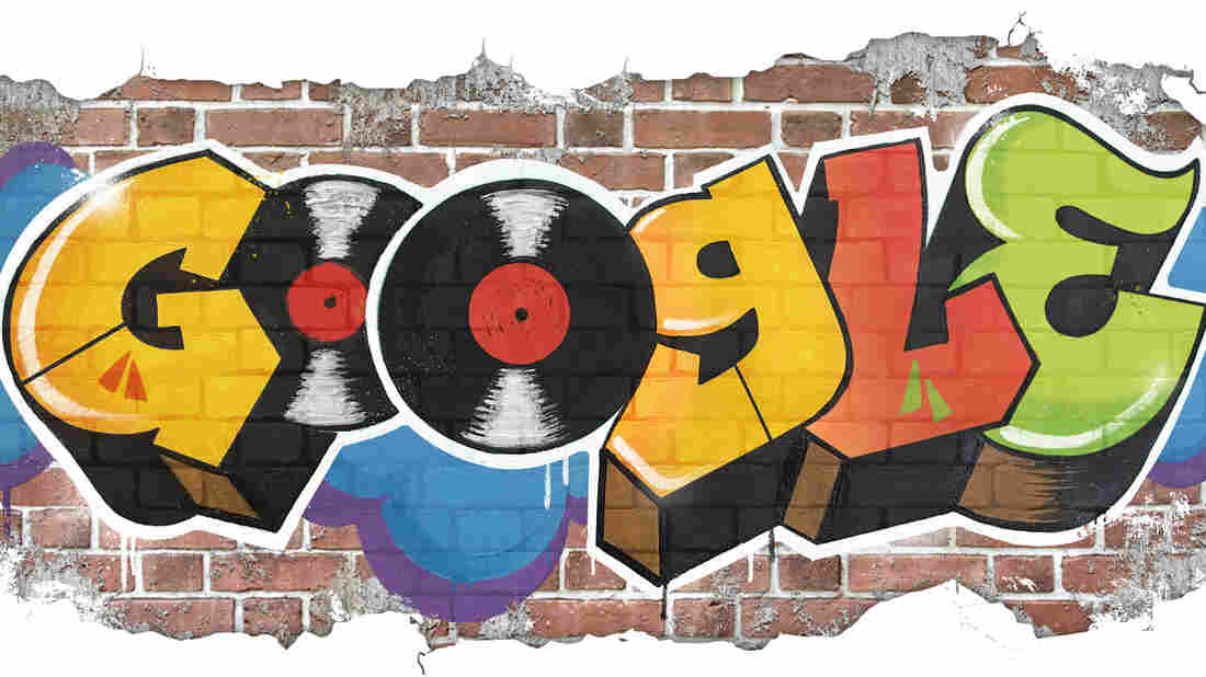 Google doodle celebrates 44 years of 'Hip Hop'