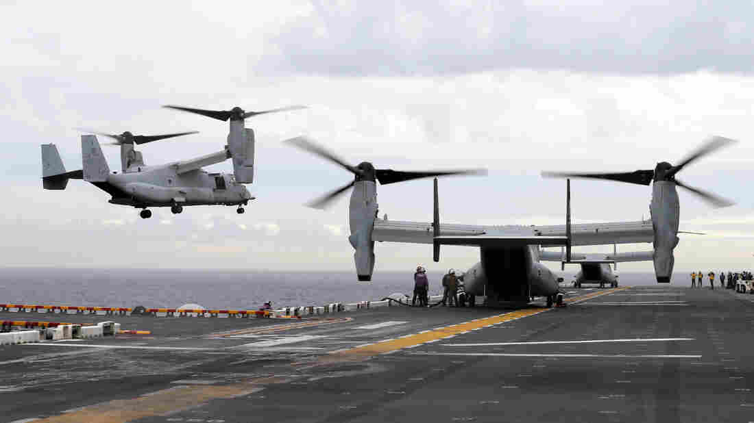 Marine Corps MV-22 Ospreys cleared to fly again after deadly crash