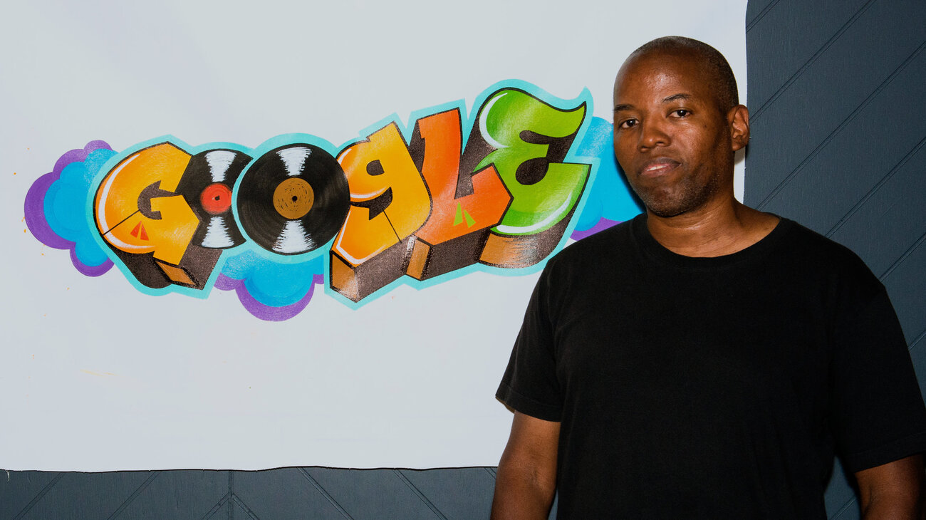 Founding Def Jam creative director Cey Adams designed the Google graffiti logo.     (Google)
