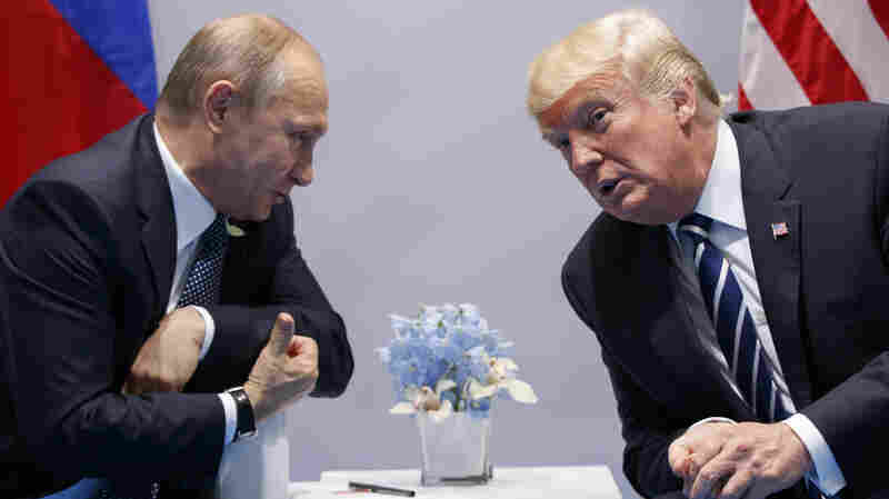 Trump And Russia: Lots Of Talk, But Critics Say There's No Clear Strategy