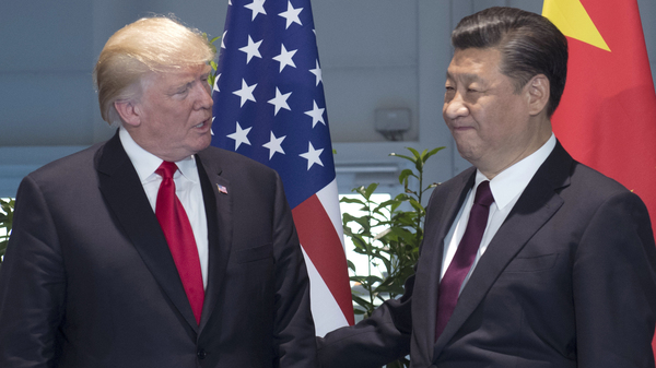 President Trump spoke on the phone with Chinese President Xi Jinping late Friday, but according to the White House, the two didn