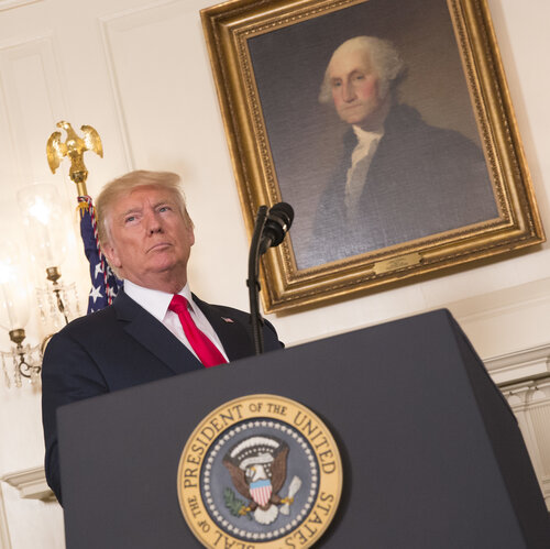 Trump's Charlottesville Remarks Follow A History Of Ambiguity On White Nationalism