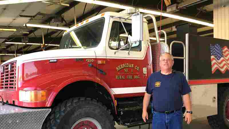 Fighting Fires For Free, Aging Volunteers Struggle To Recruit The Next Generation