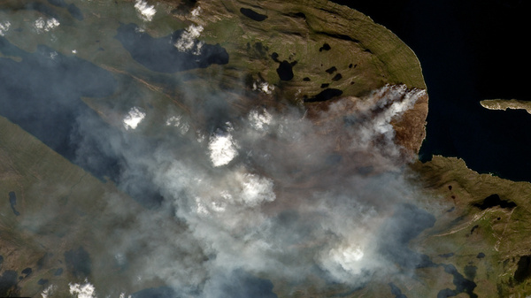 Greenland Is Still Burning, But The Smoke May Be The Real Problem