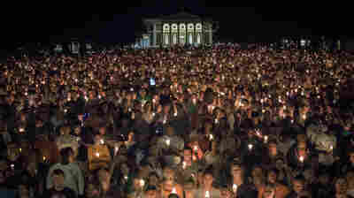 Torches Replaced By Candlelight As Thousands Gather For Charlottesville Vigil