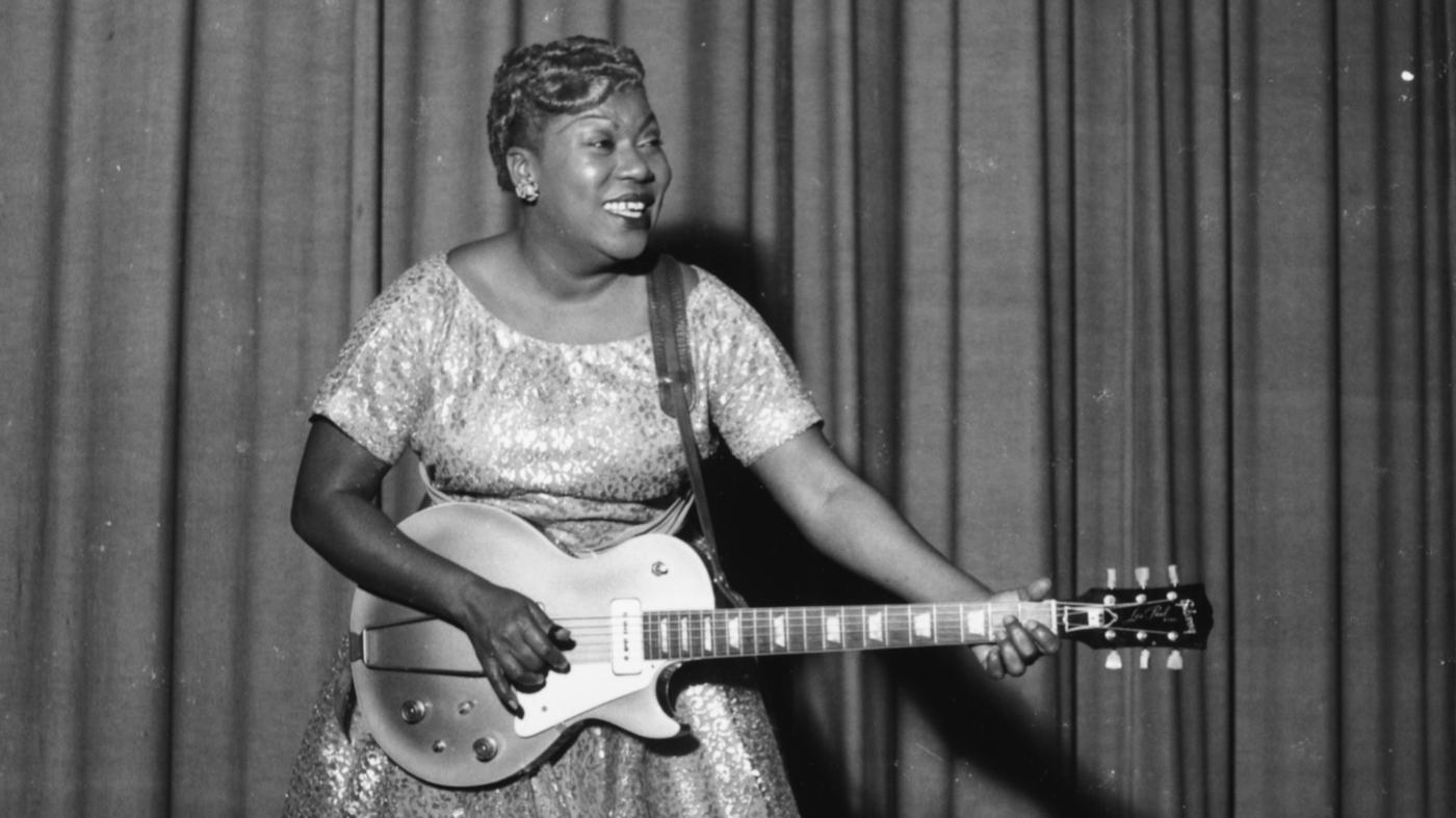 Forebears Sister Rosetta Tharpe The Godmother Of Rock N Roll Npr