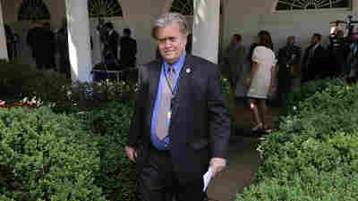 Bannon, Unplugged: White House Strategist Pushes Trade Agenda, Undercuts Colleagues