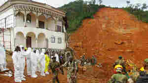 As Rain Keeps Falling, Sierra Leone Scrambles To Find Mudslide Survivors