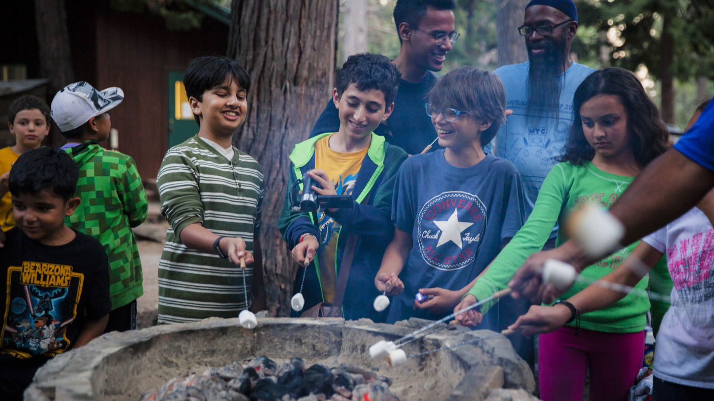 eb1aa473b78 Summer Camp Teaches Young Muslims How To Cope With Rising Hate   NPR