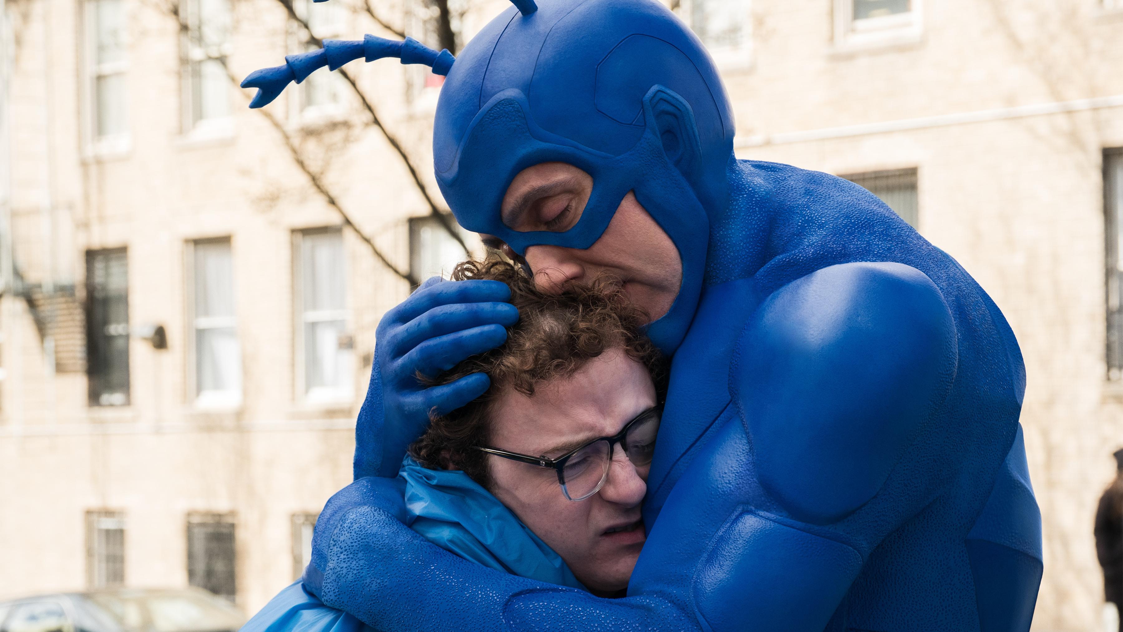 He's Big, He's Blue, And Now, He's Bingeable: 'The Tick' Returns