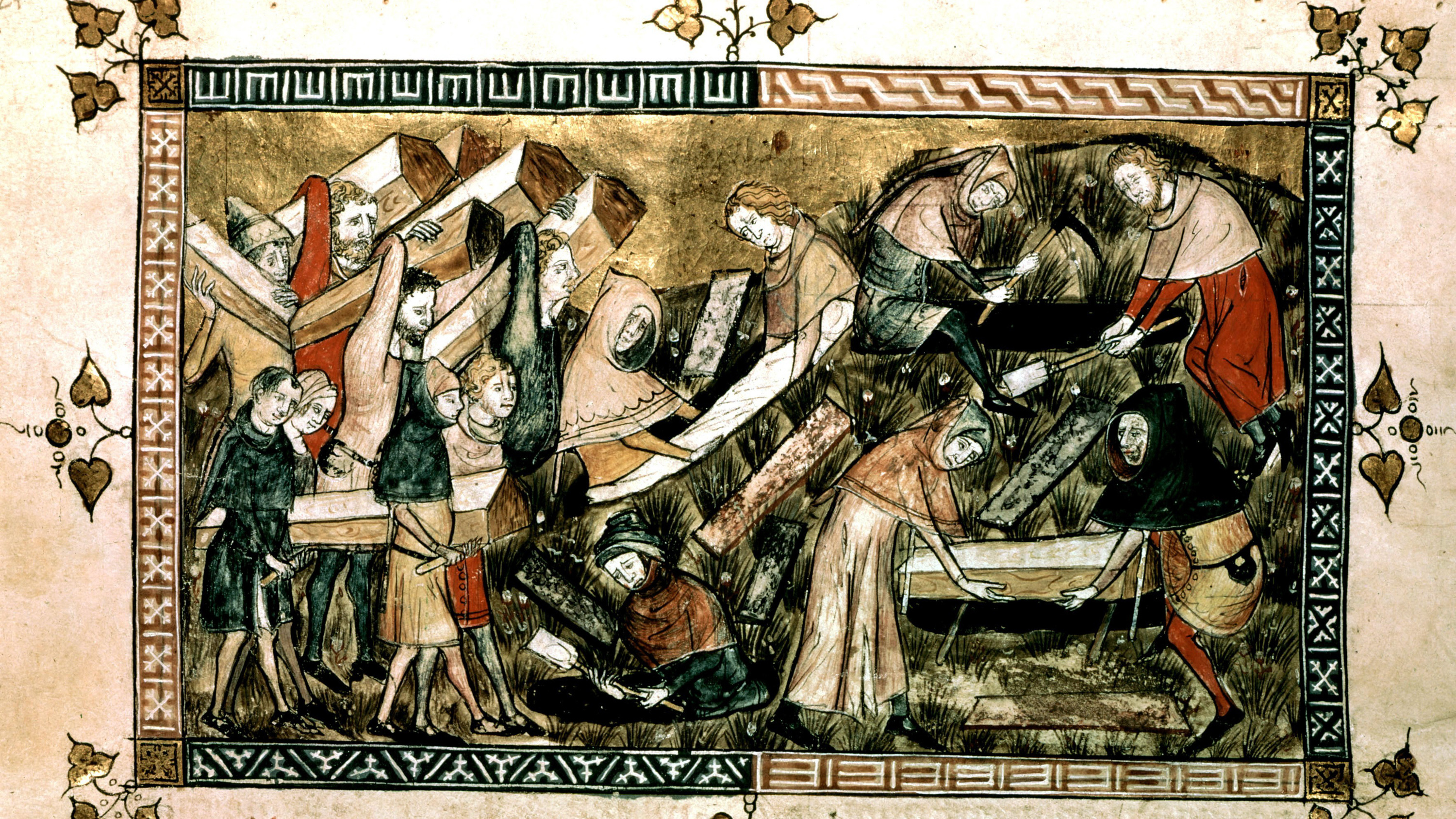 christinan musliim responses to black plague Christian and muslim views on the 14th century plague the black plague first was found in europe around the 1300 more about the plague - the black death essay.