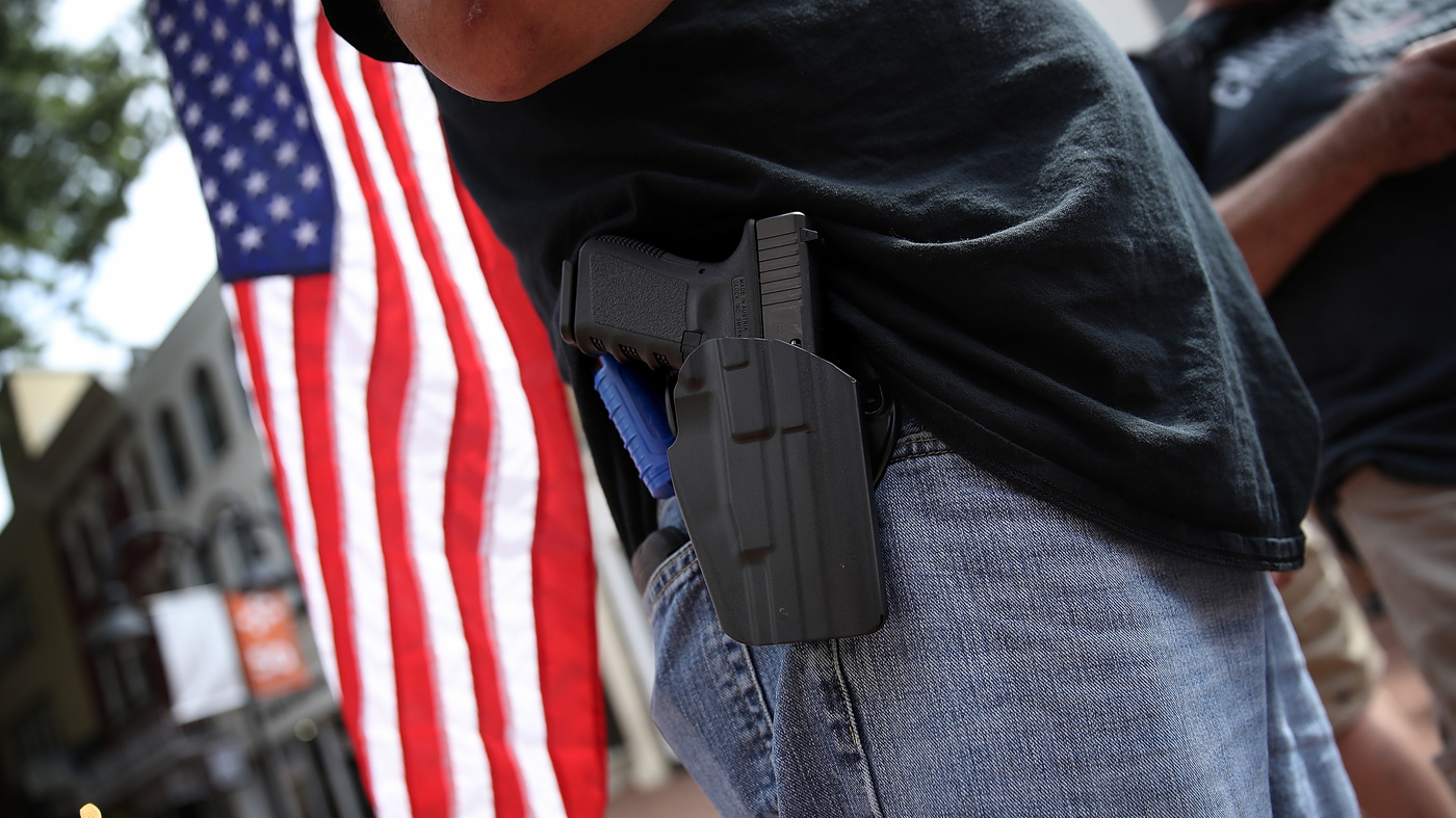 Gun-Carrying Protesters Create 'Tricky' Question For ACLU