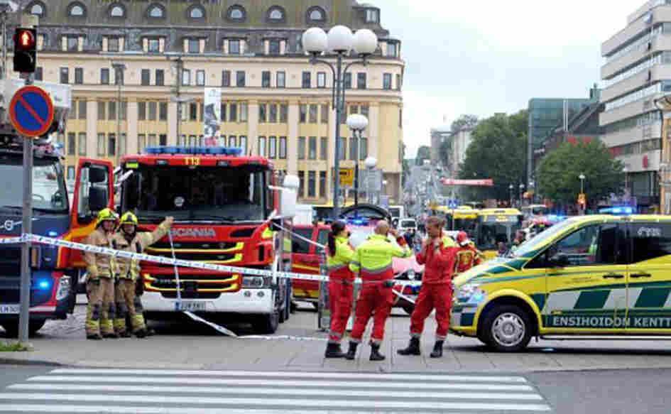Two Dead In Stabbing Attack In Turku, Finland