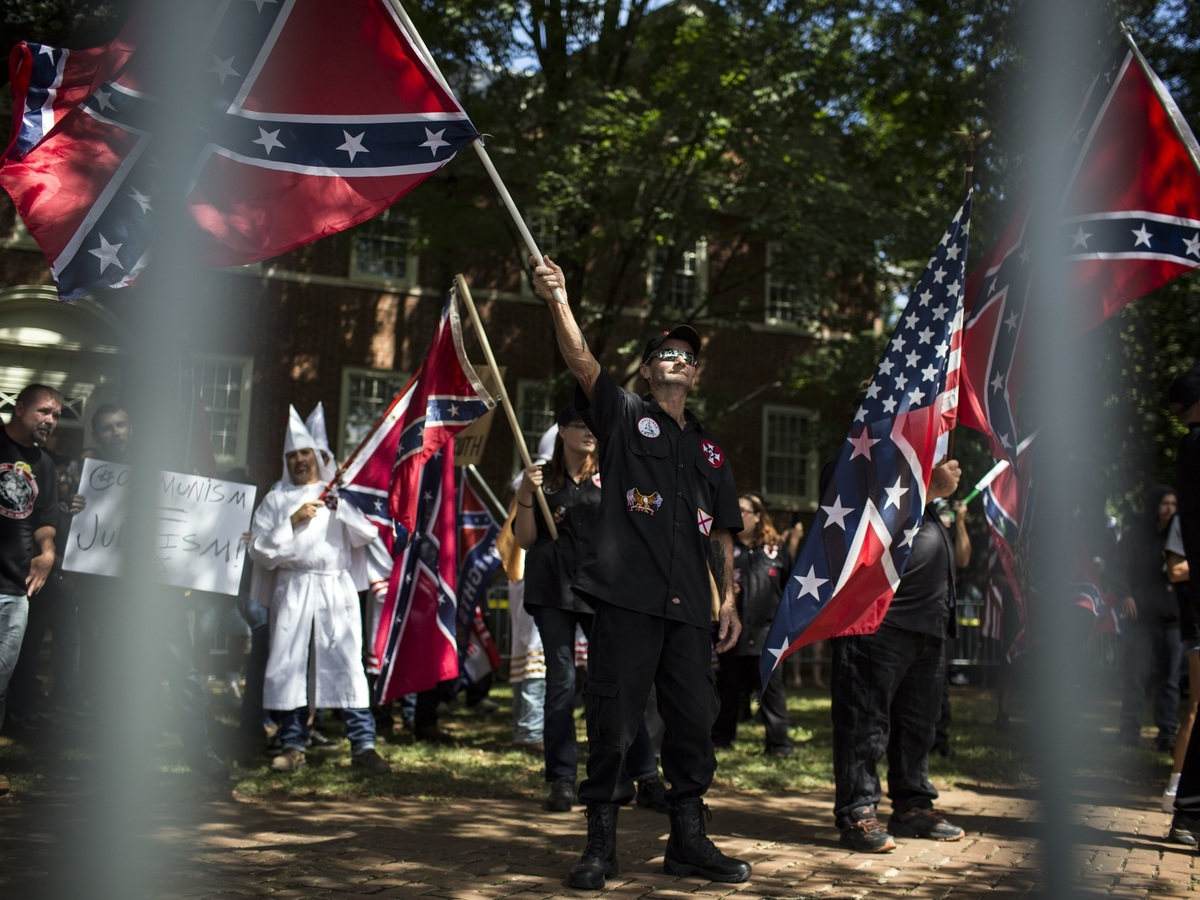 Tracing The Dark Origins Of Charlottesville's KKK : Code Switch : NPR
