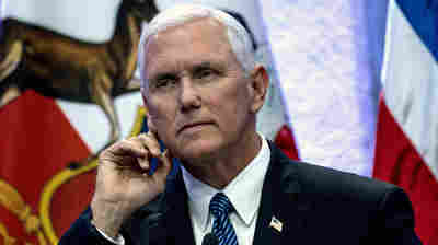 In Delicate Dance, Pence Translates For Trump Abroad