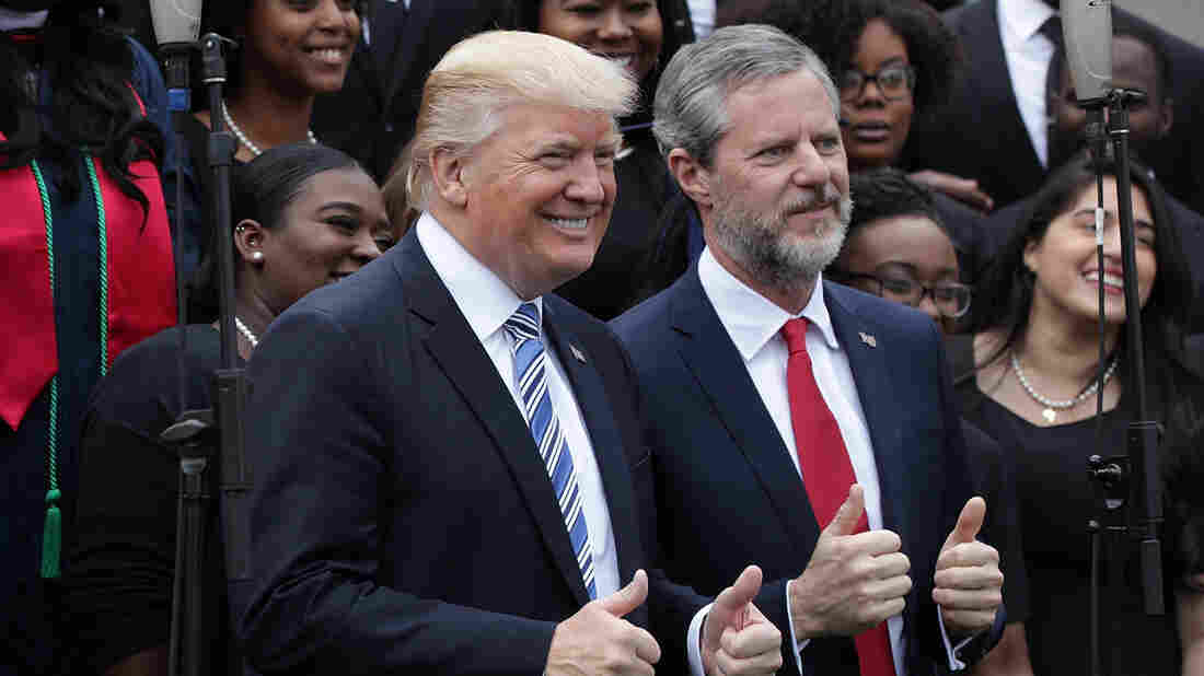 Jerry Falwell Jr.: Trump 'Says What's in His Heart, What He Believes'