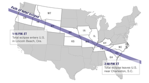 Eclipse Map: Tracking The Astronomical Show