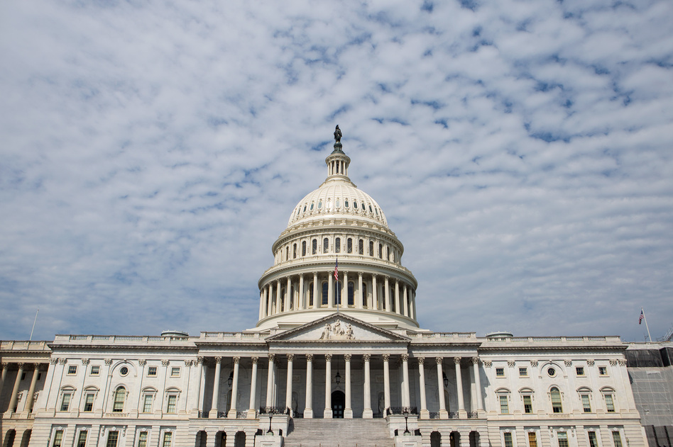 Glenn Simpson, a former<em> </em>reporter who later helped found a private investigation firm, sat down with Senate Judiciary Committee staff behind closed doors on Tuesday, congressional aides told NPR. (Liam James Doyle/NPR)