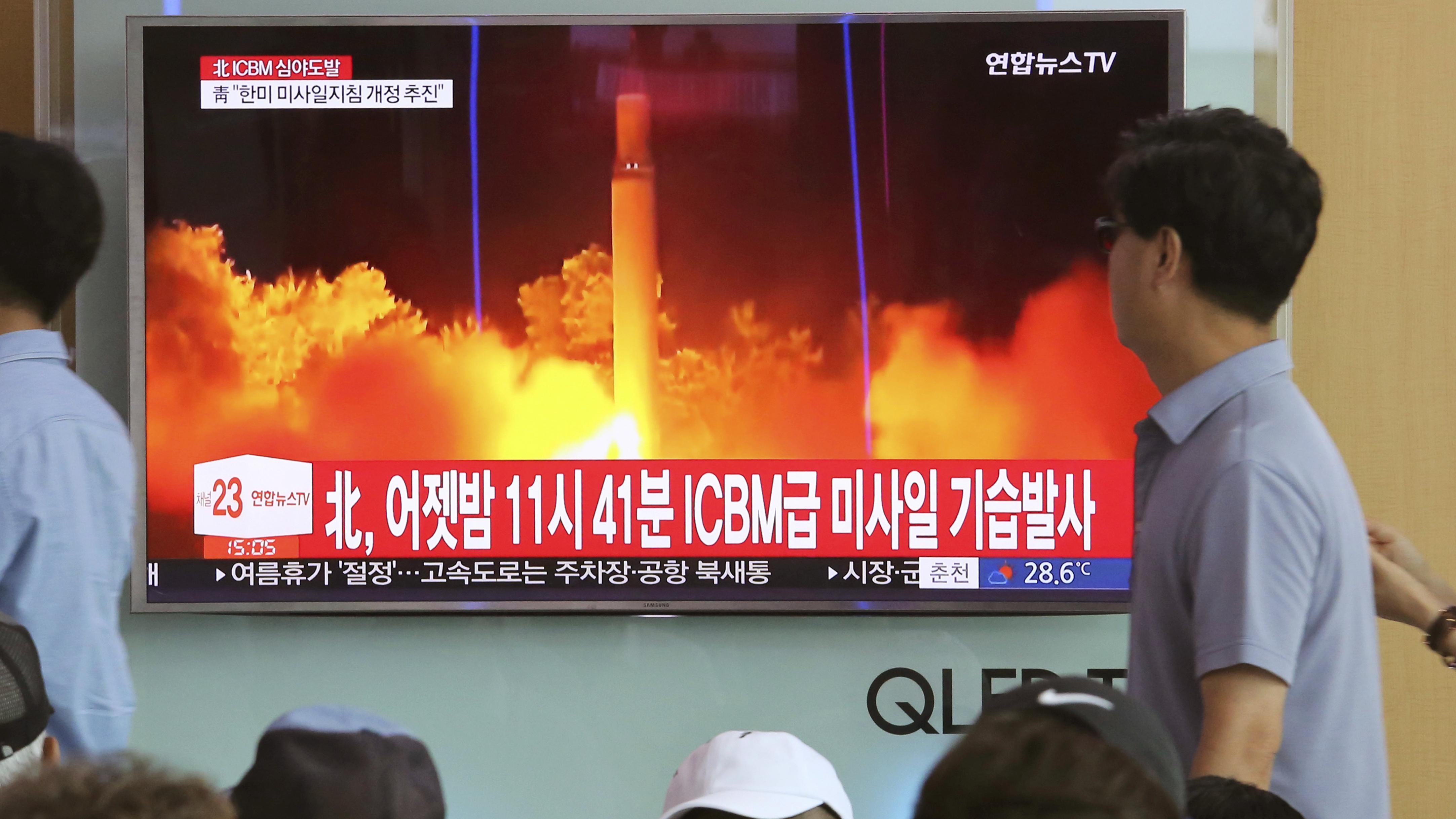 Trump Administration Unveils Sanctions To Curb North Korea's Weapons Program