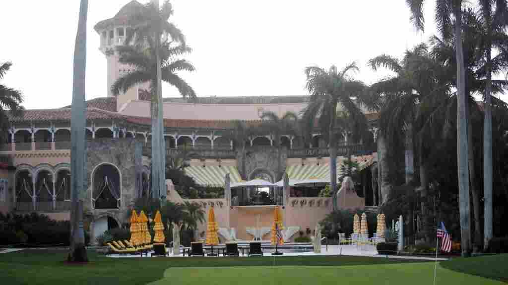 Another gala departing Trump's Mar-a-Lago