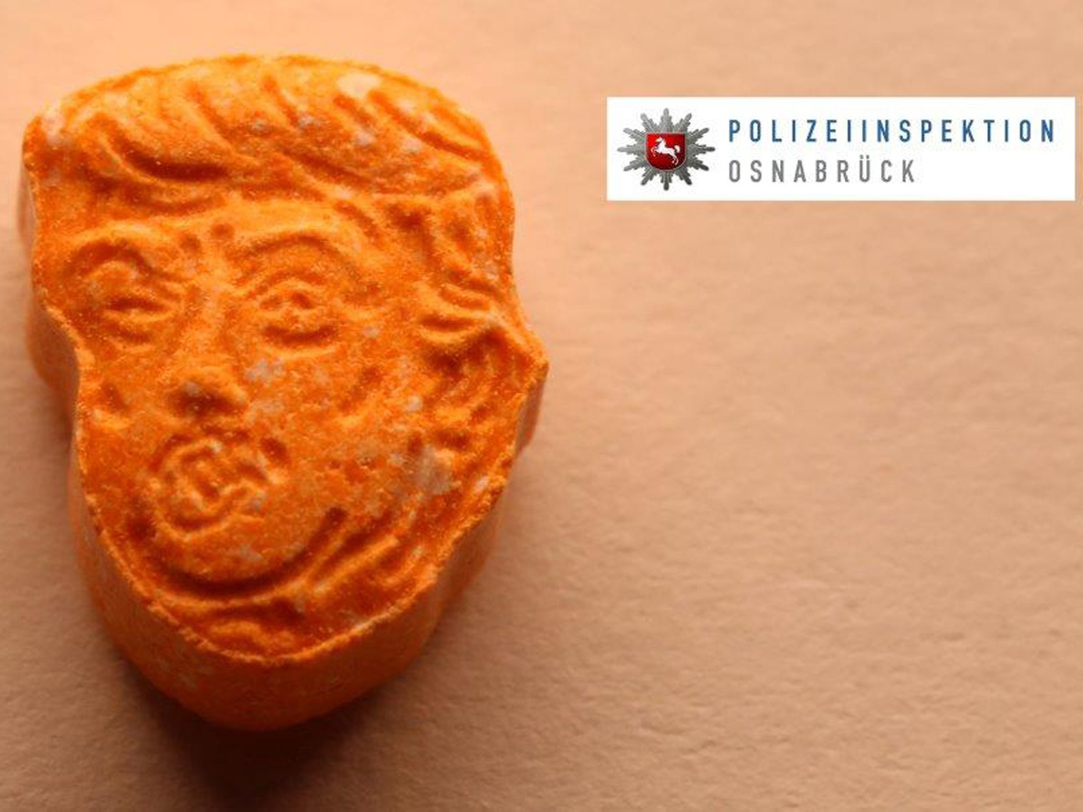 Ecsta-seized: 5000 Trump-shaped ecstasy pills seized in Germany