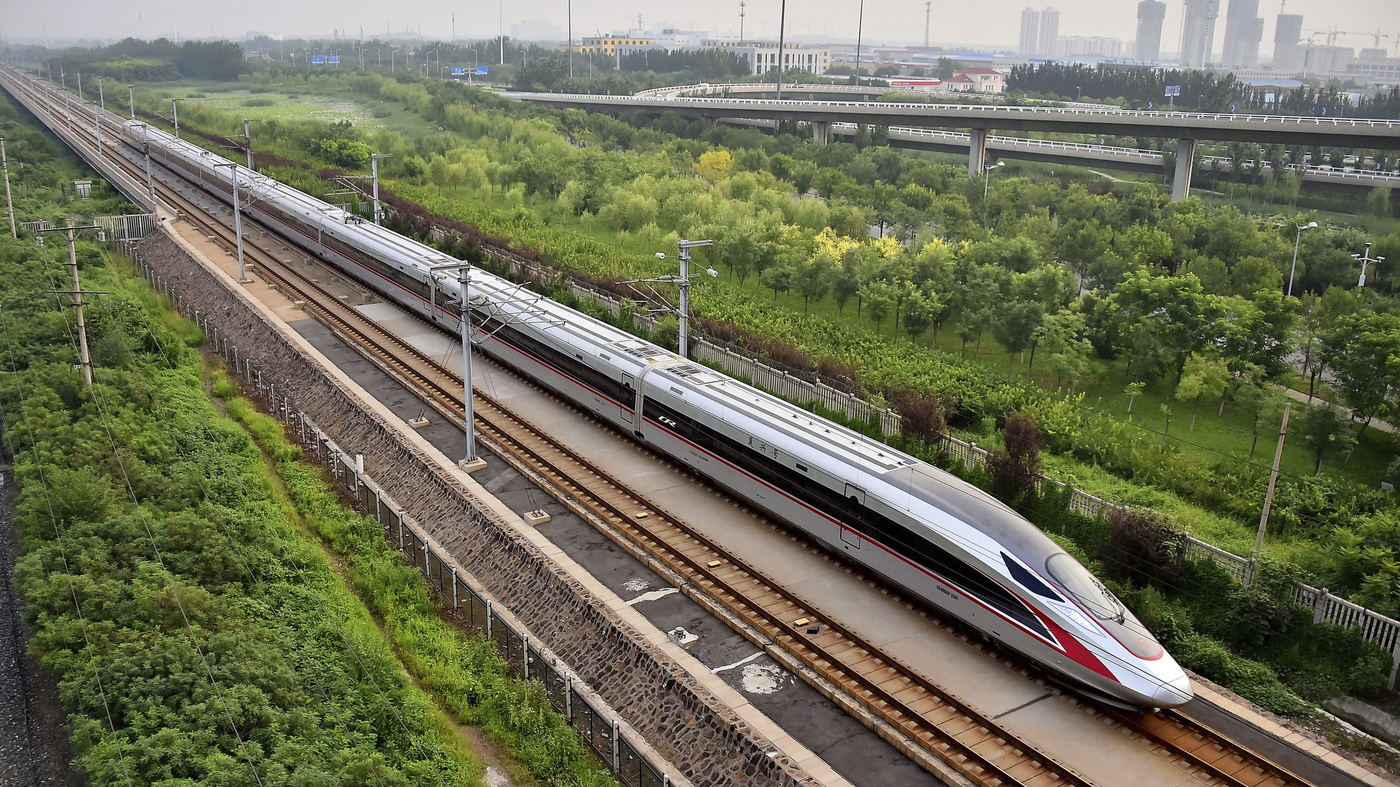 Building Car Game >> New Bullet Trains To Put China Out Front On High-Speed Rail : The Two-Way : NPR